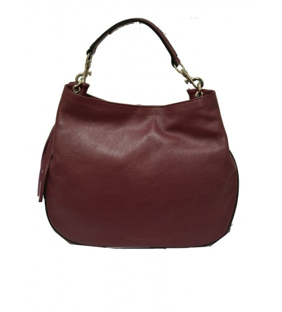 Handbag - Side tassel - Bordeaux