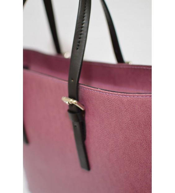 Shopper - Belt handle - Bittersweet pink
