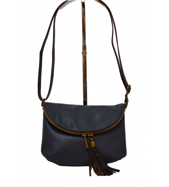 Shoulderbag - Small Tassel - Sea Blue