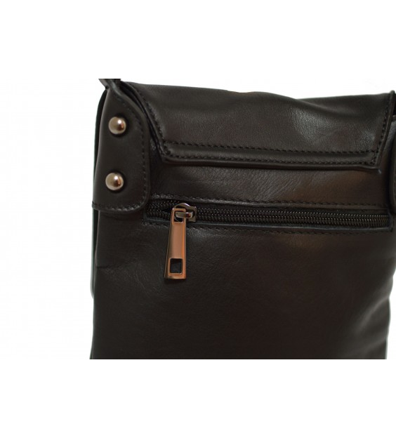 Schoudertas - Small Flap Over - Midnight Black