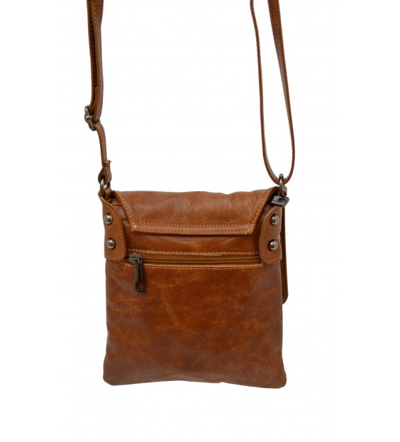 Schoudertas - Small Flap Over - Midnight Brown