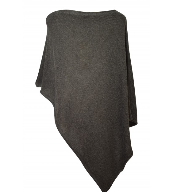 Poncho - Star - Grey